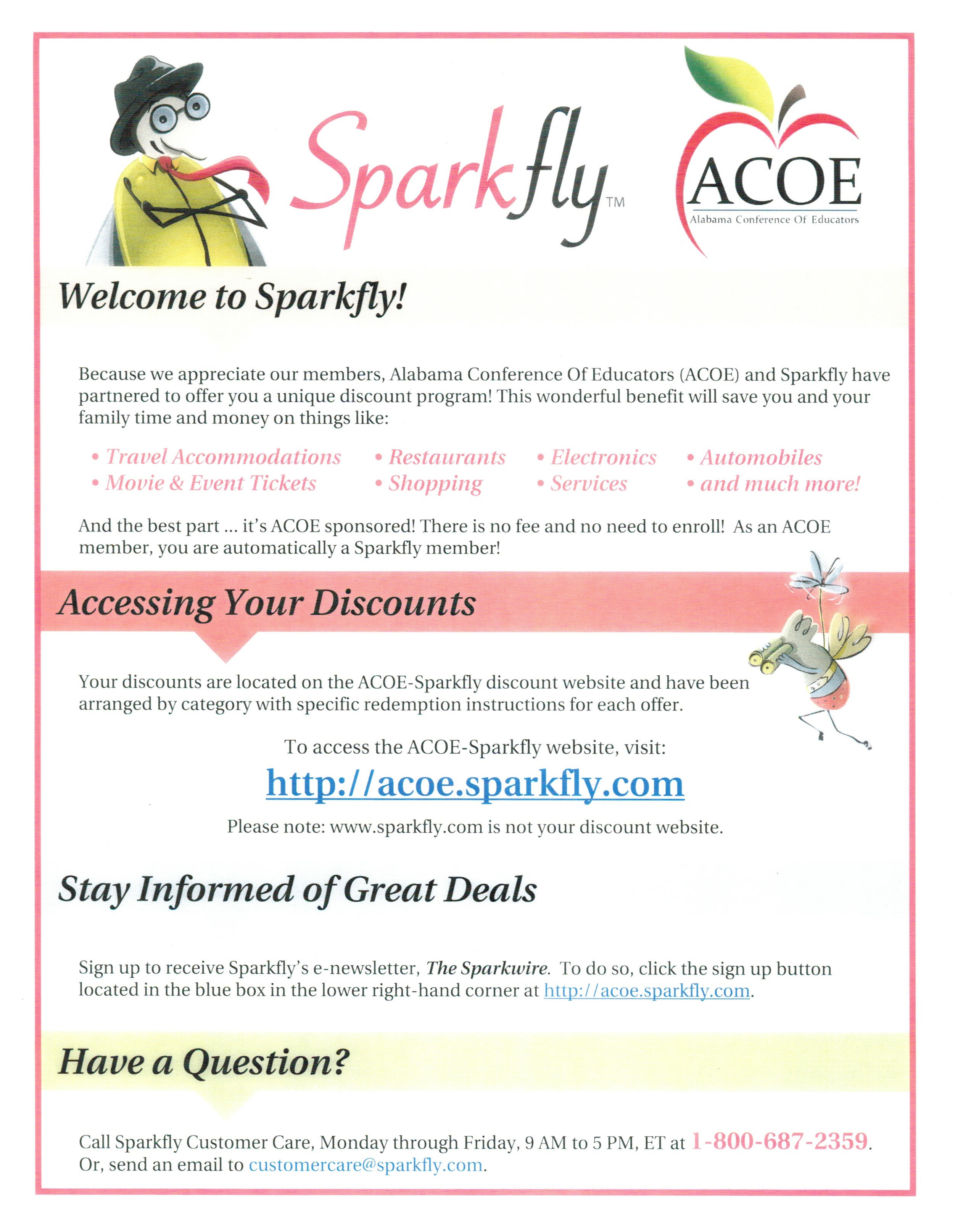 Sparkfly Page